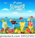 background, cocktail, summer 30532562