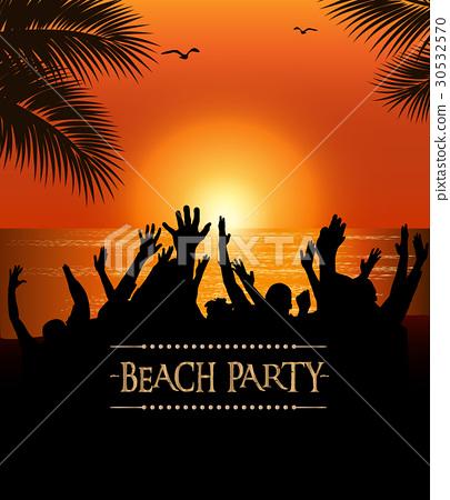 Summer Beach Party Flyer 30532570