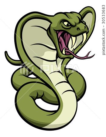 Cobra Snake Viper Mascot 30533683