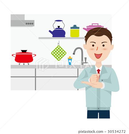 廚房 重新裝飾 家裝 30534272