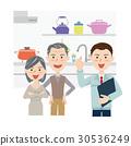 厨房 家装 重新装饰 30536249