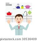 厨房 家装 重新装饰 30536409