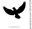 silhouette animal black 30537520