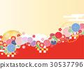 日式 菊花 打钩 30537796
