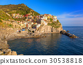 Manarola town at the Ligurian Sea, Italy 30538818