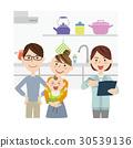 蓝领工人 工人 厨房 30539136