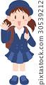 초등학교 유니폼 30539212