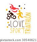 triathlon, sport, hand 30540621