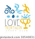 triathlon, sport, hand 30540631