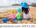 holidays, beach, twins 30541181