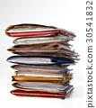 Stack of folders 30541832