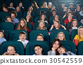 Children watching movies at the cinema 30542559