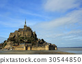 mont saint michel, world heritage, scenery 30544850