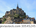 mont saint michel, mont saint michel abbey, abbey 30545245