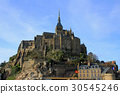 mont saint michel abbey, world heritage, mont saint michel 30545246