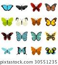 一組 收藏 蝴蝶 30551235