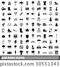 100 公園 圖標 30551343