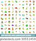 100 nature icons 30551459