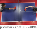 Table Tennis Ping-Pong Friends Sport Concept 30554096