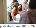 合作 团队合作 谈话 30560292