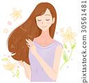 护发 头发 发 30561481
