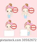 woman take billboard 30562672