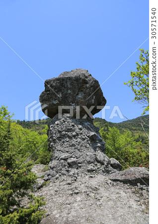 下島町香川縣冷泉松茸蘑菇岩(後面8景的2個場景) 30571540