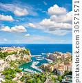 Monaco Palace Mediterranean Sea French riviera 30571571