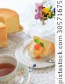 chiffon cake, sweet, dessert 30571675