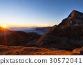 Mountain range at sunset 30572041
