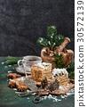 Honey cake with spices Christmas decoration Festiv 30572139