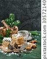 Honey cake Christmas decoration sweet food vintage 30572140