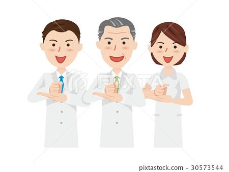 男人和女人 男女 医生 30573544