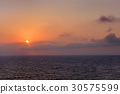 sunset at sea 30575599
