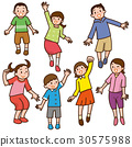 孩子們跳 30575988