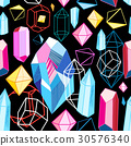 vector, crystal, diamond 30576340