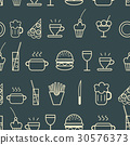 Food and drink icons 30576373