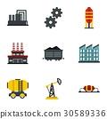 อุตสาหกรรม,น้ำมัน,ไอคอน 30589336