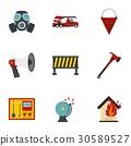 icon set flat 30589527