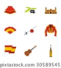 icon, vector, set 30589545