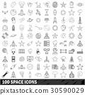 100 空间 图标 30590029