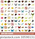 100 動物園 圖標 30590131