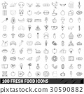 100, fresh, food 30590882