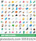 100, tools, icons 30591024
