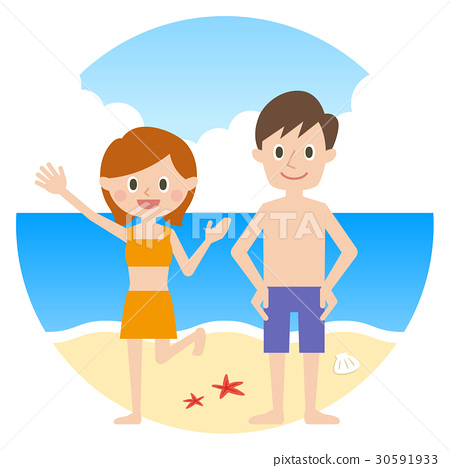 夫婦游泳 30591933