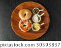 베이글, 빵, 샌드위치 30593837