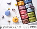 multicolored french macaroons 30593996