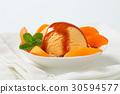 fruit, apricot, ice-cream 30594577