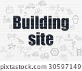 icons, building, wall 30597149