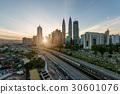 Kuala Lumpur skyline and skyscraper , Malaysia. 30601076